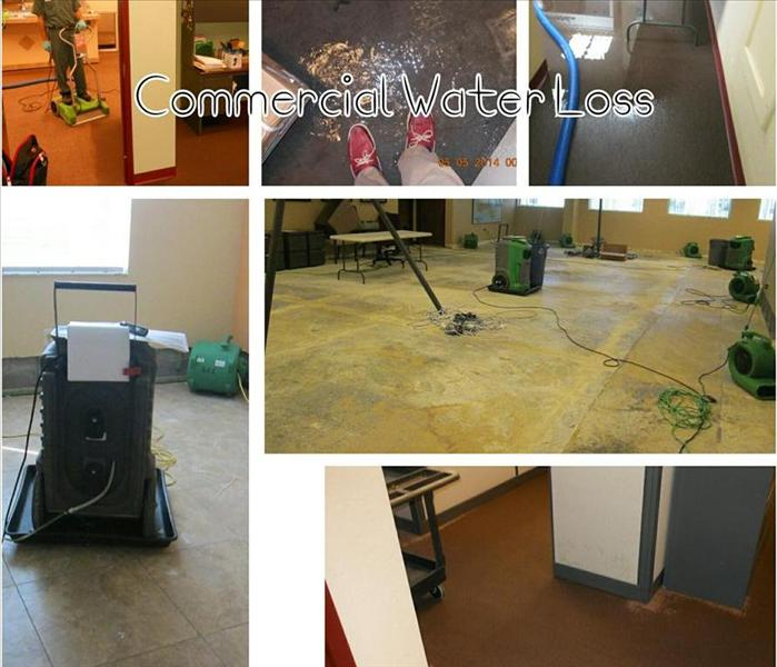 10,000 SF Commercial Water Loss Orlando, FL