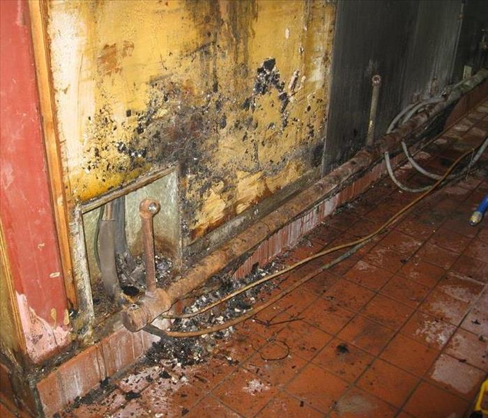 Commercial Commercial Kitchen Fire Damage in Downtown Orlando