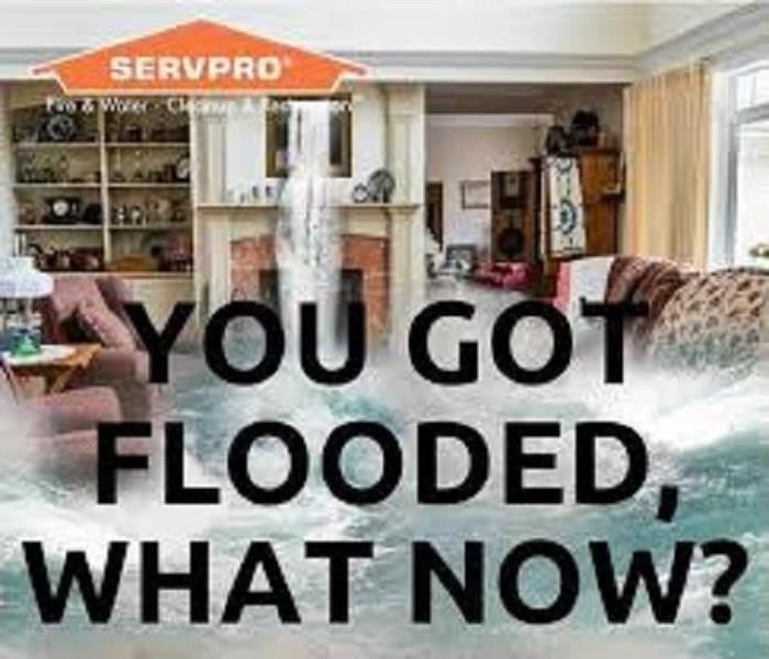 Water Damage Leave it to the Professionals at SERVPRO of South Orange County