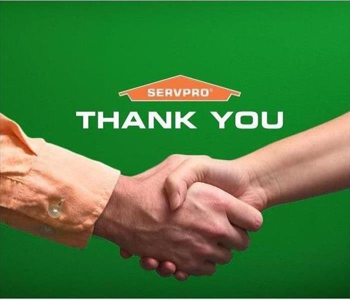 We are thanking our customers for their positive feedback